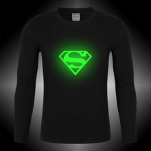 100%Cotton 2017 new arrival neon t-shirt baby tshirt long sleeve O-neck cartoon superman children clothing boys clothes 13 years