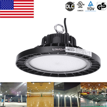LED High Bay Lamp Industrial Light for Factory Workshop Warehouse Exhibition Hall Stadium Mine Market DLC UL TUV GS Listed Lamp