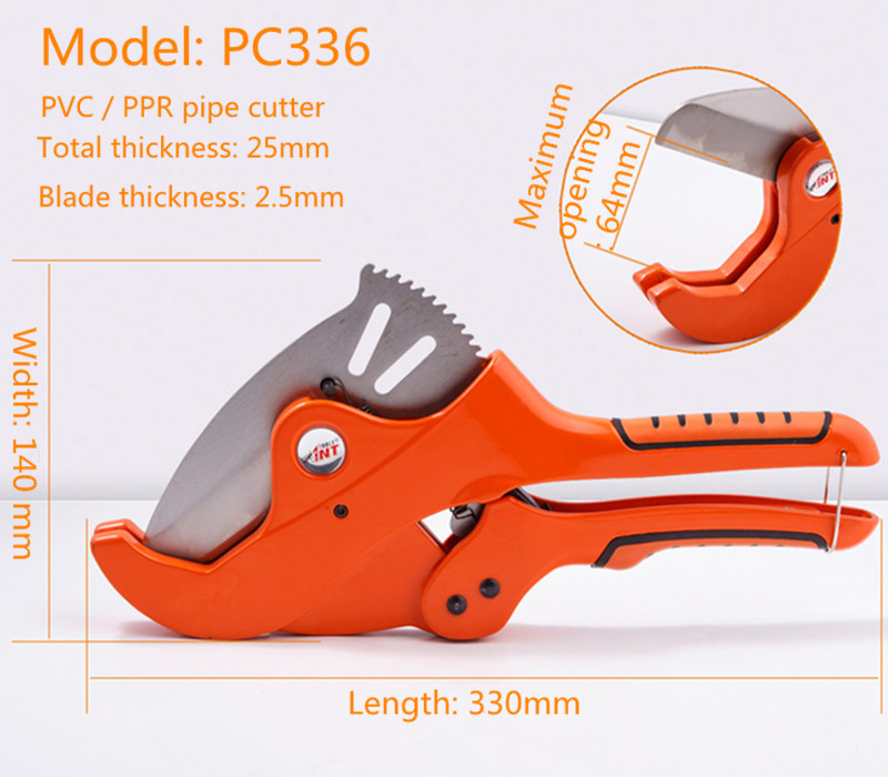 Imported Manganese Steel PVC Aluminum Pipe Cutter Tube Cutter (Heavy Duty Industrial Model)<br>