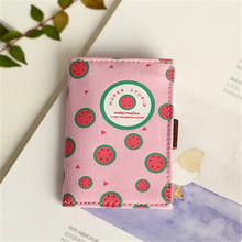 Card Holders For Girls Child Small Hand 20 Bits Fruit Shaped Credit Cards ID Cardholder Wallet Purse Women Men Organizer Manager