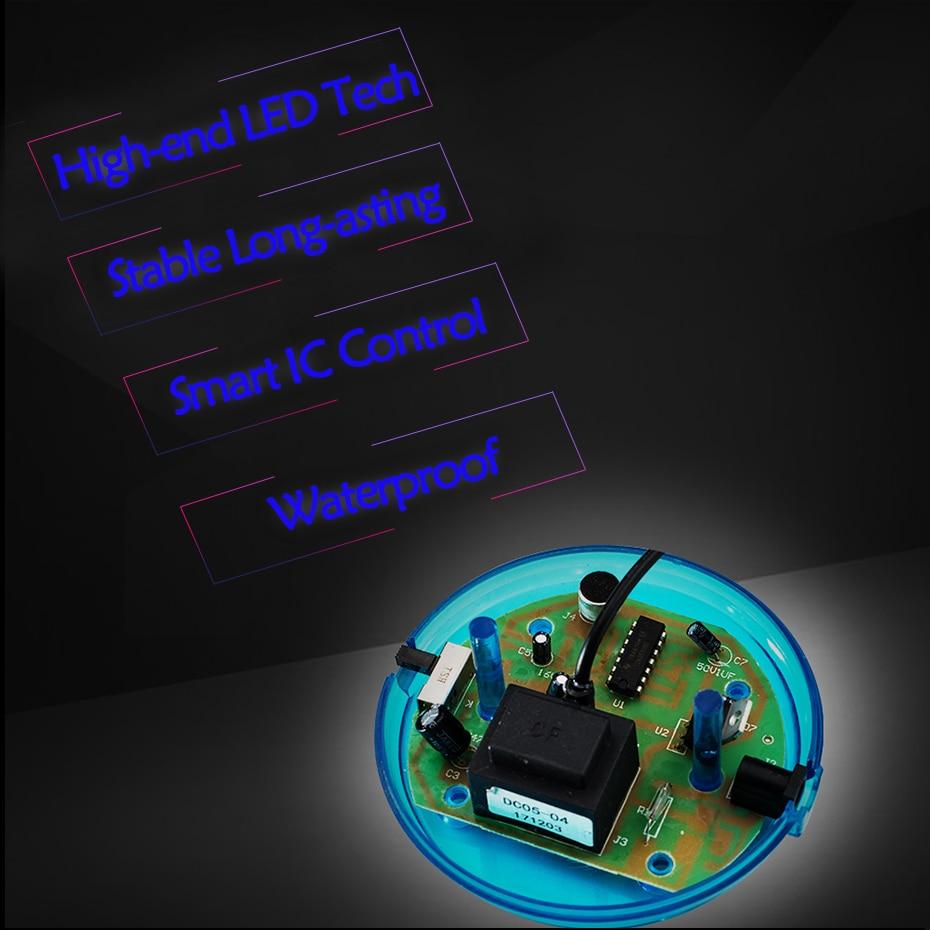 CNSUNNYLIGHT Car Music Sound Control LED USB Plasma Ball Electrostatic Lamp Decoration Atmosphere DJ Lights Party Magic Lighting (9)