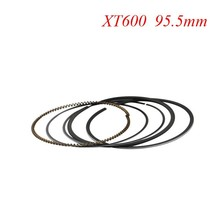 Motorcycle Piston Rings Set For Yamaha XT600 XT 600 (+50) 0.5mm Oversize Bore Size 95.5mm NEW