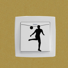 Football Fashion Vinyl Home Decor Wall Sticker Switch Decal 5WS0757
