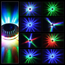 New Professional LED Stage Lights High Power RGB Par LED Stage Sunflower LED Light Lamp for DJ Disco Party KTV