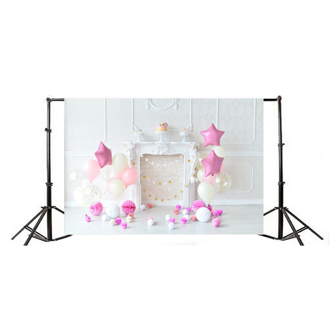 New Arrival 1pc 7x5ft Child Birthday Vinyl Photography Background Ballon Party Backdrops for Photo Studio Props
