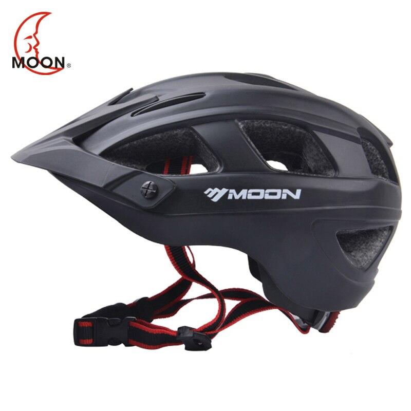 MOON 2018 Bicycle Helmet Ultralight Cycling Helmet Casco Ciclismo Integrally-molded Bike Helmet Road Mountain MTB Helmet<br>