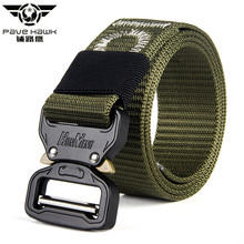 Buy Casual Military Style SWAT Tactical Belt Men Army Combat Camouflage Belts Fashion Adjustable Black Metal Buckle Nylon Waist Belt for $9.68 in AliExpress store