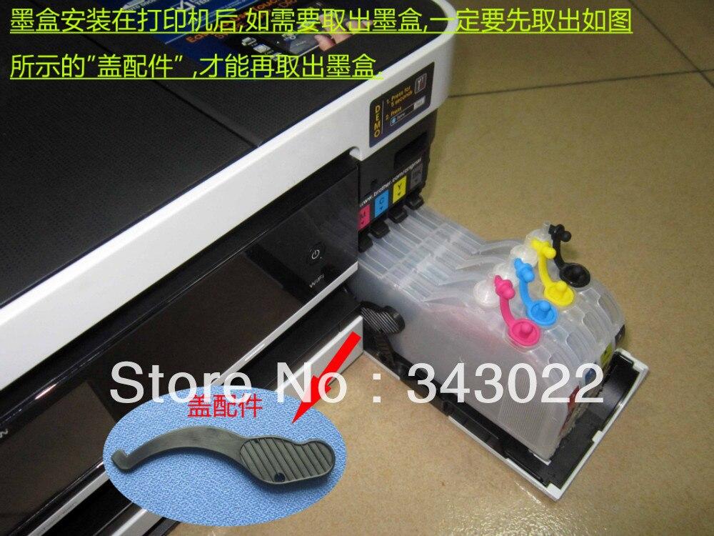 PROCOLOR long refill inkjet cartridge LC111M/LC111C/LC111Y/LC111BK for BROTHER DCP-J952N-B/DCP-J952-W/DCP-J752N/DCP-J552N...<br>