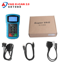 Newest Code reader Super vag k can plus 2.0 VAG Diagnostic Tool Super VAG K+CAN Plus 2.0 Odometer tool free shipping(China)