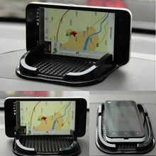 Newest Car Anti Slip Grip Mobile Phone Holder Automobiles Skidproof Pad Mat GPS Sat Nav Car-styling Black