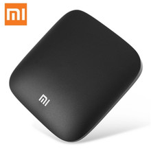 Original Xiaomi MI 3S Android 6.0 Smart TV BOX 2G 8G Quad Core 4K Set-top Box BT 4.1+EDR 5G Wifi Smart Media Player Dolby DTS