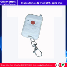 1 button remote to control all fireworks firing system