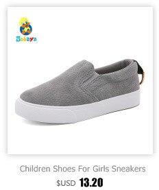 Enfants chaussures pour fille enfants toile chaussures garçons 3