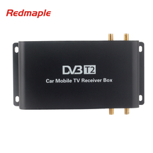 Car DVB-T2 DVB-T MPEG4 Digital TV Box 4 Seg Support 180-200KM/H Speed Driving Digital Car TV Tuner HD 1080P TV Receiver(China)