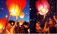 SKY Balloon Kongming wishing Lanterns,Flying Light Halloween Lights,Chinese sky Lantern Wholesale 300pcs/lot(China)