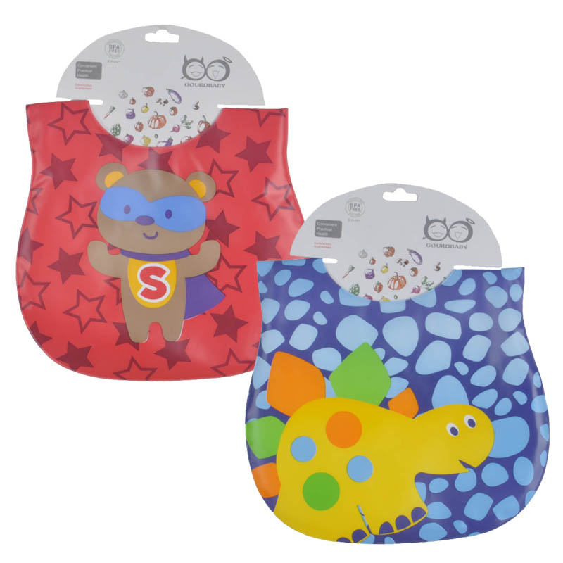 Mother Nest 2 Pcslot Waterproof Baby Bibs babador baby feeding bandana baby bibs babet for Lunch (1)