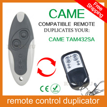 100% copy fixed code Universal RF Remote Control Duplicator for Garage Door (include CAME remotes) CAME TAM432SA(China)