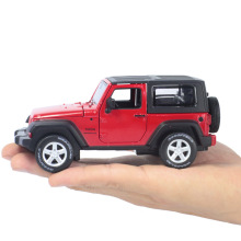 Maisto Diecast Car 1:32 Scale Jeep Wrangler Willys Model Car Off-road Vehicle With Openable Doors Toy for Children Gift