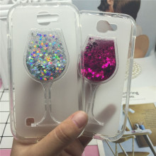 Buy Glitter Quicksand Phone Cases LG K3 Lte K100 K100DS 4G Case Bling Cute Srtars Cup Soft Silicon Back Cover 3D Capa Funda for $3.62 in AliExpress store