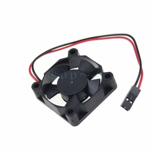 Gdstime 10pcs/lot Small Brushless DC Cooling Fan 5V 35mm 3510S 5 Blades 35x35x10mm Dupont 2Pin