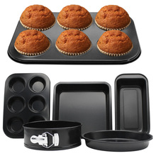 5pcs non-stick Baking Mold Set/stainless steel Oven Household Cookies Bakery Set baking tools