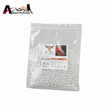 0.25g 0.3g Tactical Shooting BB Balls 1000 Rounds Plastic BB Pellets 6mm Strikeball Strike Ball Paintball War Game Accessories(China)