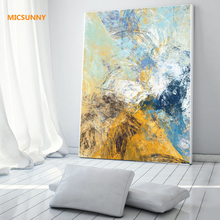 MICSUNNY Canvas Art Abstract Painting Scandinavian Nordic Home Decor For Living Room Wall Printed Picture And Posters No Frame(China)