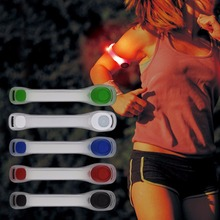Wholesale 1PC Reflective Safety Belt Arm Strap Night Cycling Running Riding LED Armband Light