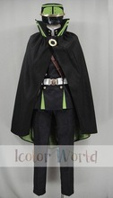New Hot Sale Seraph of the End: Vampire Reign The Moon Demon Company Uniform Cosplay Costume