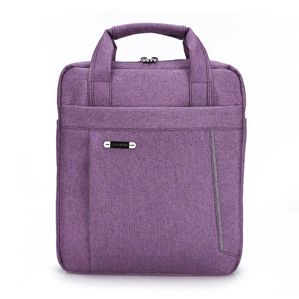 13 inch Laptop Vertical Handbag Messenger Bag Shoulder Crossbody Bag Minimalist Business Travel Briefcase<br>