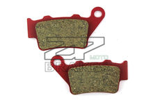 Ceramic Composite brake pads Fit For Rear VERTEMATI All models with 2 piston Brembo calipers 1998-2004 Motorcycle Accessories(China)