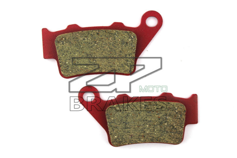 Ceramic Composite brake pads Fit For Rear VERTEMATI All models with 2 piston Brembo calipers 1998-2004 Motorcycle Accessories(China (Mainland))