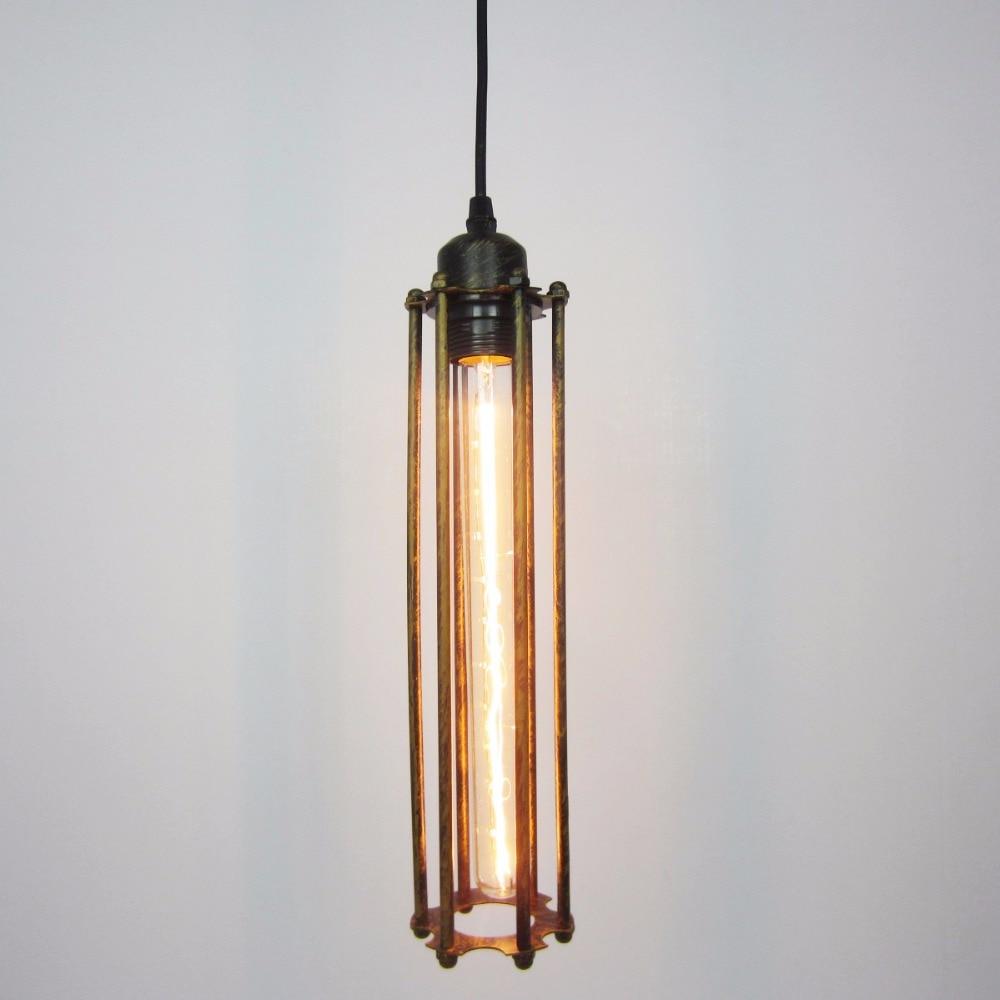 Olightin Black Iron Hanging Northern American Style Pendant Light Lamp rh LOFT Vintage pendant lamp for dining room restaurant<br>