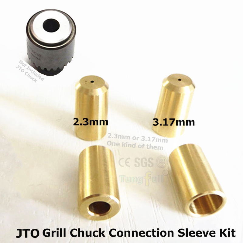 Copper JTO (0.3-4mm) Drill Chuck Connection Sleeve Connecting Rods for 2.3/ 3.17 mm Motor Shaft<br><br>Aliexpress
