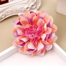 NEW Free shipping KLJH30499 45pcs /lot 9colors 8CM   Cloth Peony hair clip Hawaii Dancer Summer Beach Party