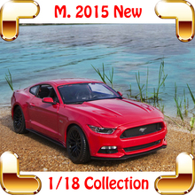 New Arrival Gift M2015 1/18 Large Model Car Metallic Delicate Sport Vehicle Alloy Collection Model Scale Decoration Toys