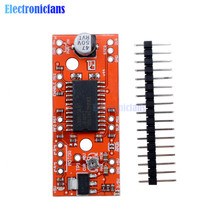 1Set EasyDriver Shield Stepping Stepper Motor Driver V44 A3967 For Arduino Support 4/6/8 Wire Steppers 7V-30V(China)