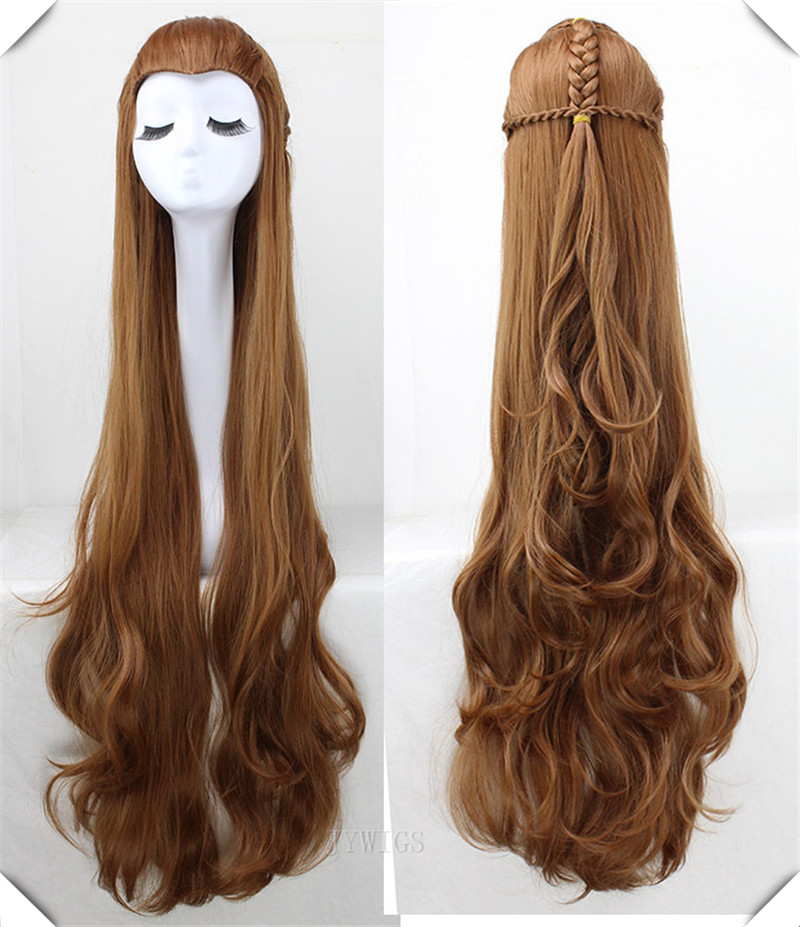 120cm Wig Synthetic Extra Long Cosplay Hair Peruca Perruque Pruik La Parrucca<br><br>Aliexpress