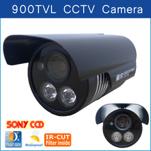 Hot Product 900TVL HD 720P Camera Security Camera Surveillance Outdoor Waterproof 2* Array infrared night vision CCTV Camera