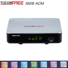 2017 Free shipping cost satellite receiver tocomfree i928ACM work for South America(China)