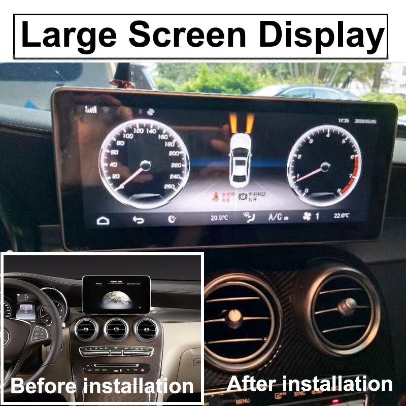Liislee Car Multimedia Player NAVI For Mercedes-Benz MB GLC Class X253 C253 2015~ 2018 Car Radio Stereo GPS Navigation (11)