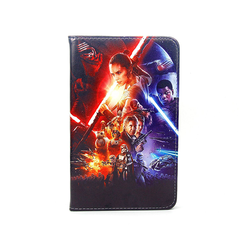 Tablet Case For Samsung Galaxy Tab 4 7.0 SM T230 T235 Tab A T280 T285 SM-T285 Case Movie Star Wars Cover stand coque para capa