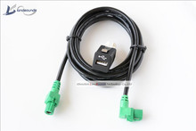 Landsounds USB Plug Socket with Cable Harness Adapter For BMW All Series 1 2 3 4 5 6 7 Series(China)