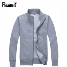 Men/ Women Casual Clothing Cotton Cardigan Hoodies Mens Solid Color Sweatshirts Slim Hoodie jacket Coat Workout tracksuit - KK Men's store
