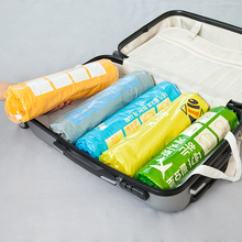 3Pcs/lot Hand-Rolled Space Saver Storage Bags Compressed Space Vacuum Seal Saver Storage Travel Bag Compression Storage Bag Bins