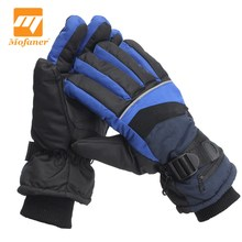 Mofaner Motorcycle Outdoor Electric Heated Gloves Waterproof Snowboard Work Winter Gloves Hands Warmer Rechargeable Battery L(China)