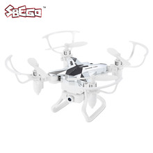 Mini Pocket Design RC Quadcopter with 0.3MP WiFi Camera 2.4G 4CH 6-Axis Gyro Drones Altitude Hold Headless Mode Drone Dron RTF(China)