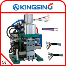 Pneumatic Wire Stripping Twisting MachineKS-W335+ Free Shipping by DHL air express (door to door service)