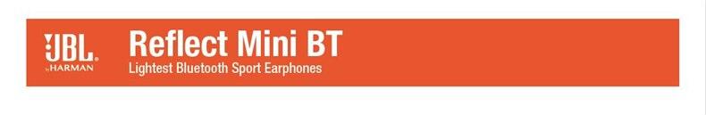 JBL Reflect Mini BT Wireless Bluetooth Headphones In-Ear Ergonomic Music Sport Run Ear-tips With Microphone Sweat Proof Earphone