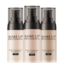 Professional Base Make Up Waterproof Matte Minerals 40ml Face Whitening Color Correction Liquid Makeup Foundation(China)
